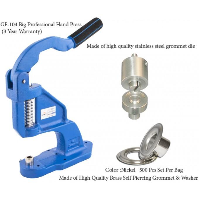 Eyelet Dies Size 3 for Grommet Hand Press Machine