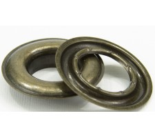 """SPGW #4 (1/2"""")I(16mm)Self-Piercing Grommets & Washers (500 Sets) (Made Of High Quality Brass)Color Antique Brass"""