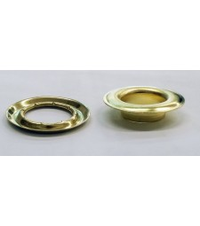 "SPGW #4 (1/2"")I(16mm)Self-Piercing Grommets & Washers (500 Sets) (Made Of High Quality Brass)Color Brass"