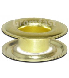 "11/16"" ID (#5.5) (18.2mm)Self Piercing Brass grommets & washers (Made Of Hgh Quality Brass) Brass Color"