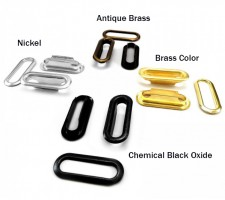 Oval Grommet & Washer Made Of  High Quality Brass(1000 pcs set) 1000 pcs set-