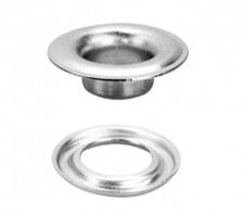 "SPGW #2 (3/8"") ID:10mm Self-Piercing Grommets & Washers -Made of High Quality Stainless Steel(500 sets)"