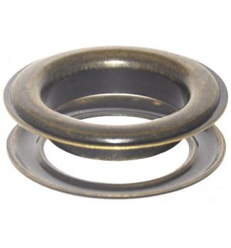 "#15(2"") 50 mm Metal Grommets-Eyelets & Washers (Antique Brass Plated )(100 Psc Set Per Bag)"