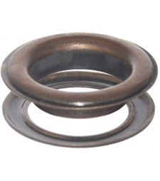Round #12 (1 1/2\ inch ) METAL Grommets and Washers(Bronze Finishes)Copper Oxide Bronze(ID 40 mmØ)